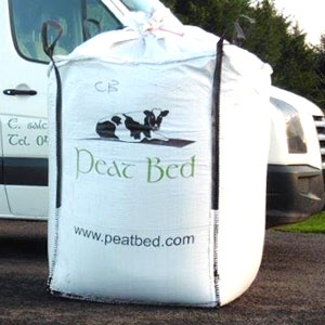 Peat bedding Tonne Bag